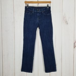 Levis At Waist Mid Rise Skinny Blue Jeans